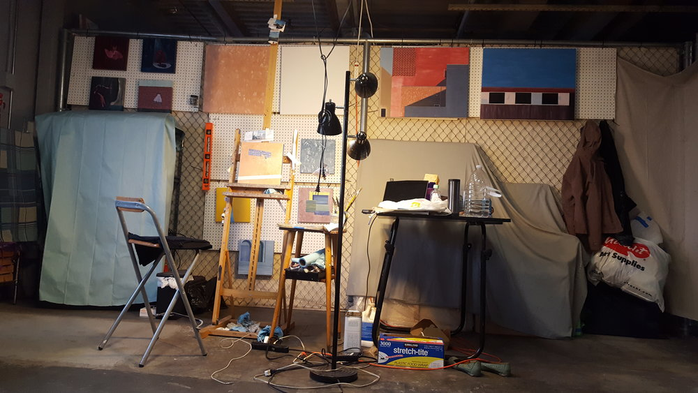 C. Rasmussen | Studio at night