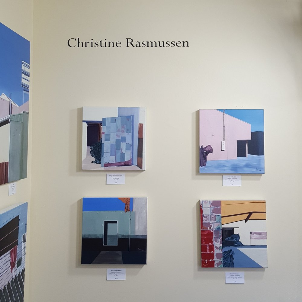 Christine Rasmussen's paintings