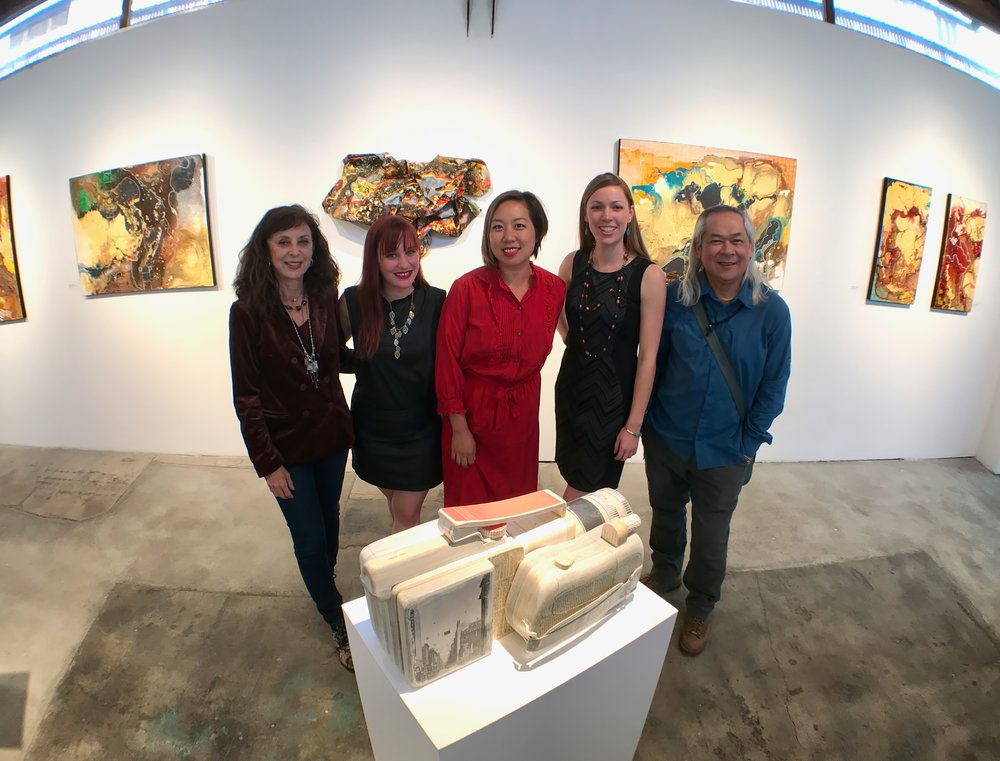 Pictured (L to R): Shelley Heffler, Kim Marra, Ching Ching Cheng, Christine Rasmussen, Hung Viet Nguyen. Photo credit: Stephen Levey