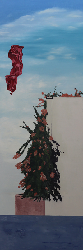 C. Rasmussen | Floating Above | 30x10 inches | oil on canvas | $500 | contact gallery for availability.
