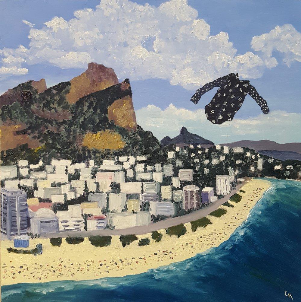 C. Rasmussen |  Bruna over Rio  | 2017