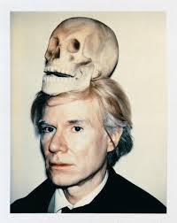 Polaroid Self Portrait by Andy Warhol
