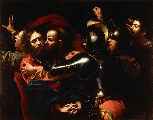 Caravaggio, The Taking of Christ (1602)
