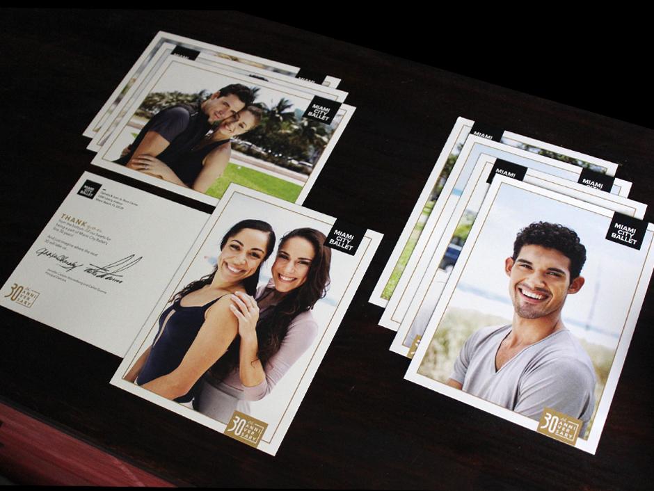 Dancer Postcard mailers