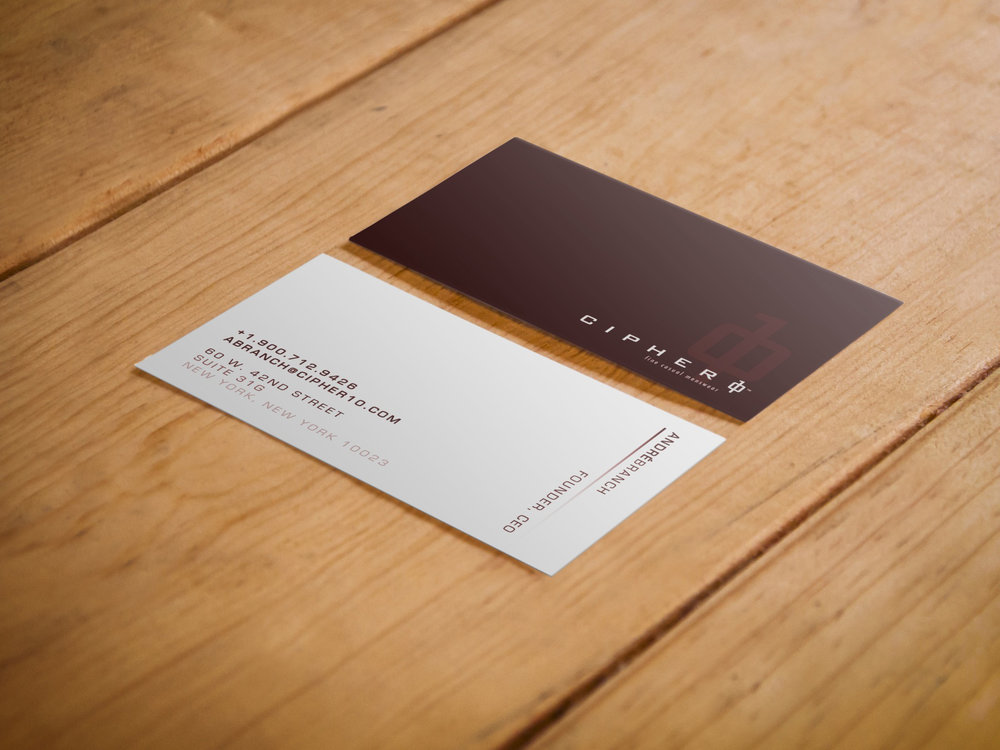 Stationery - Business Card