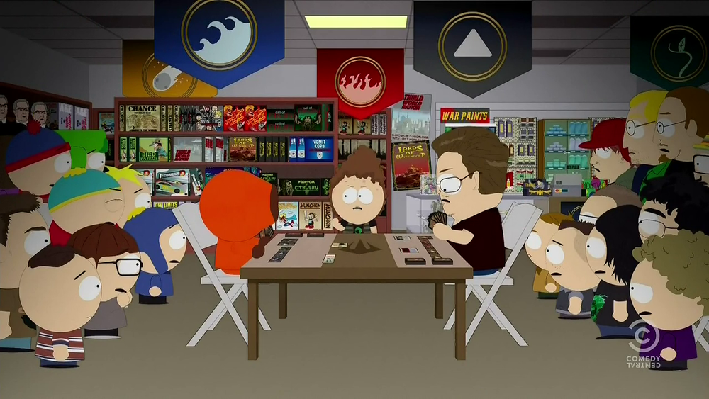 Southpark episode featuring a Magic game