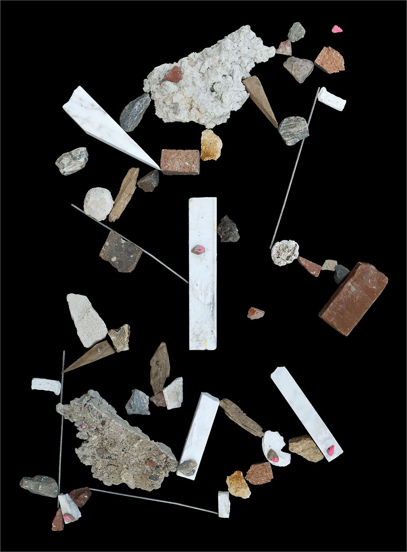 debris site #1 (West Philadelphia)   , 2011 52 x 40 inches archival pigment print © Brent Wahl