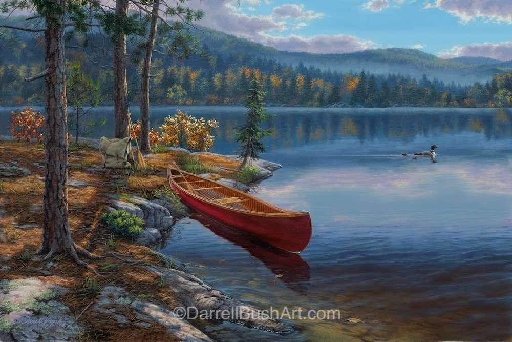 Time Well Spent Darrell Bush Art