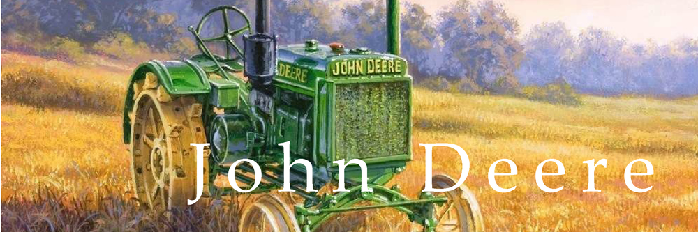Girly John Deere Paintings : Reproductions — darrell bush art