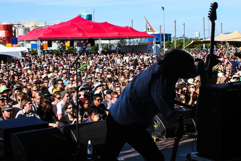 Parquet Courts - Laneway Festival Auckland 2014