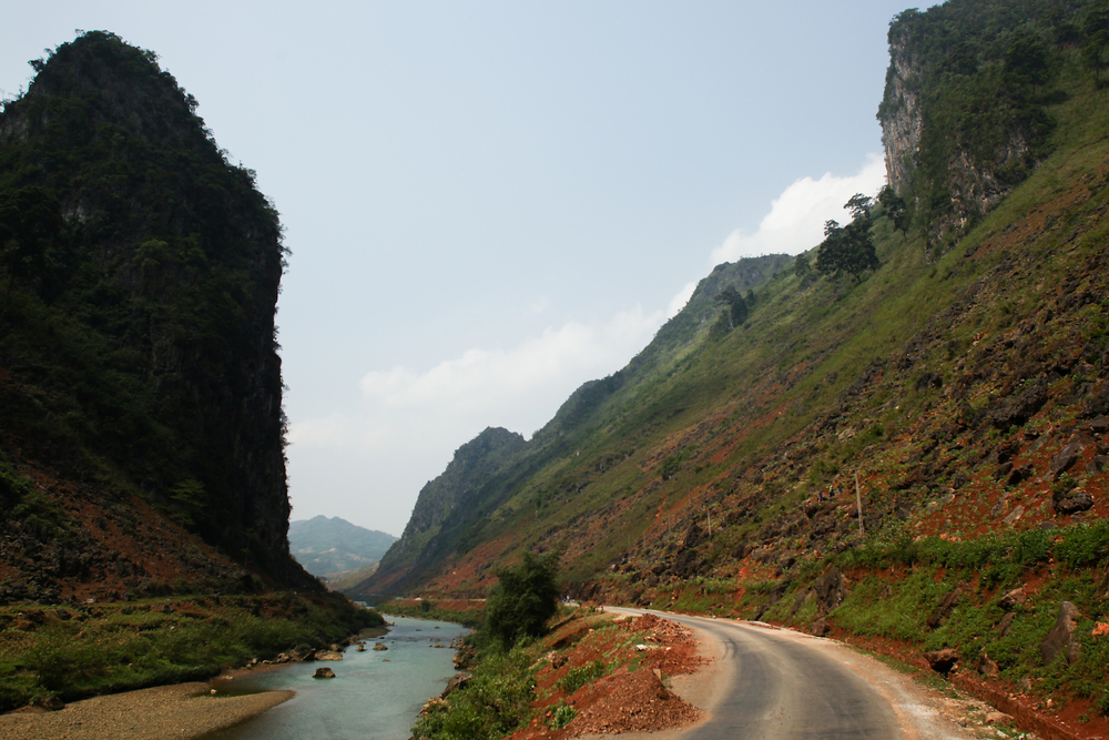 Travelling by Motorbike to Ha Giang in North Vietnam