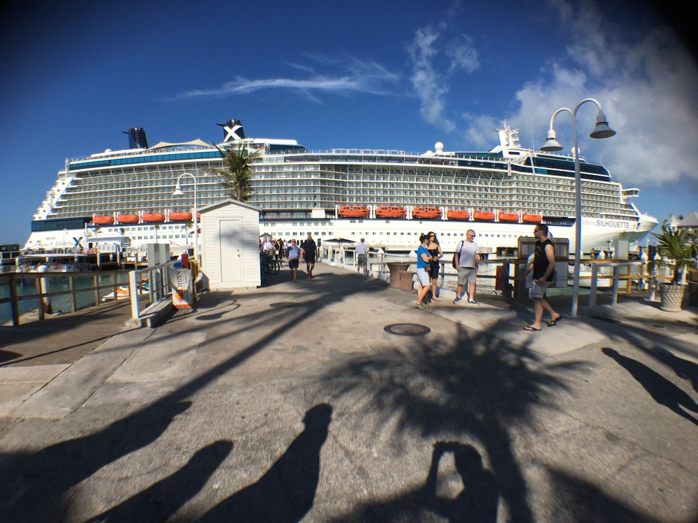 Our ship, the Celebrity Silhouette. If you are planning to cruise any time soon- go with Celebrity!