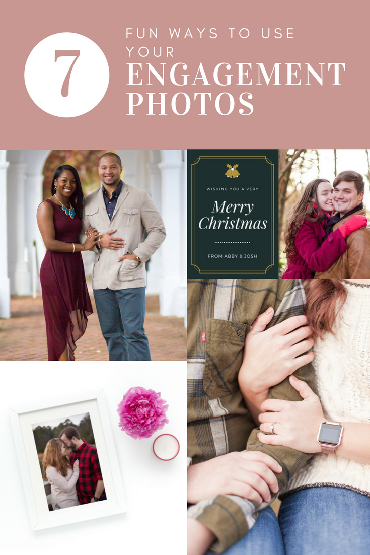 pinterest what to do with engagement photos