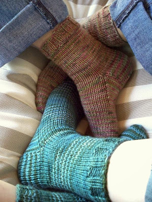 Beginner Socks Never Not Knitting