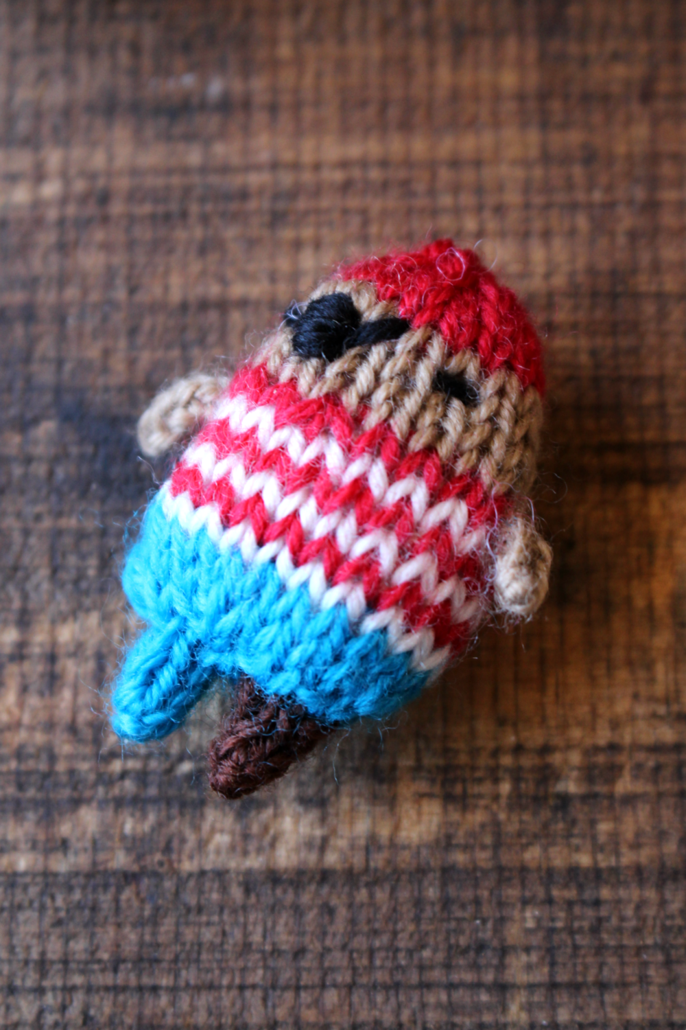 Blog never not knitting it may seem odd to share photos of a tiny knitted pirate in a post about my dads death but this little guy just makes me smile fandeluxe Gallery