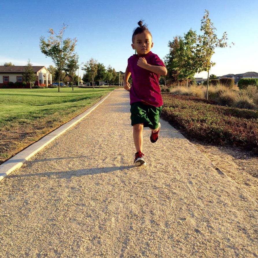 Training to run 30 mins straight