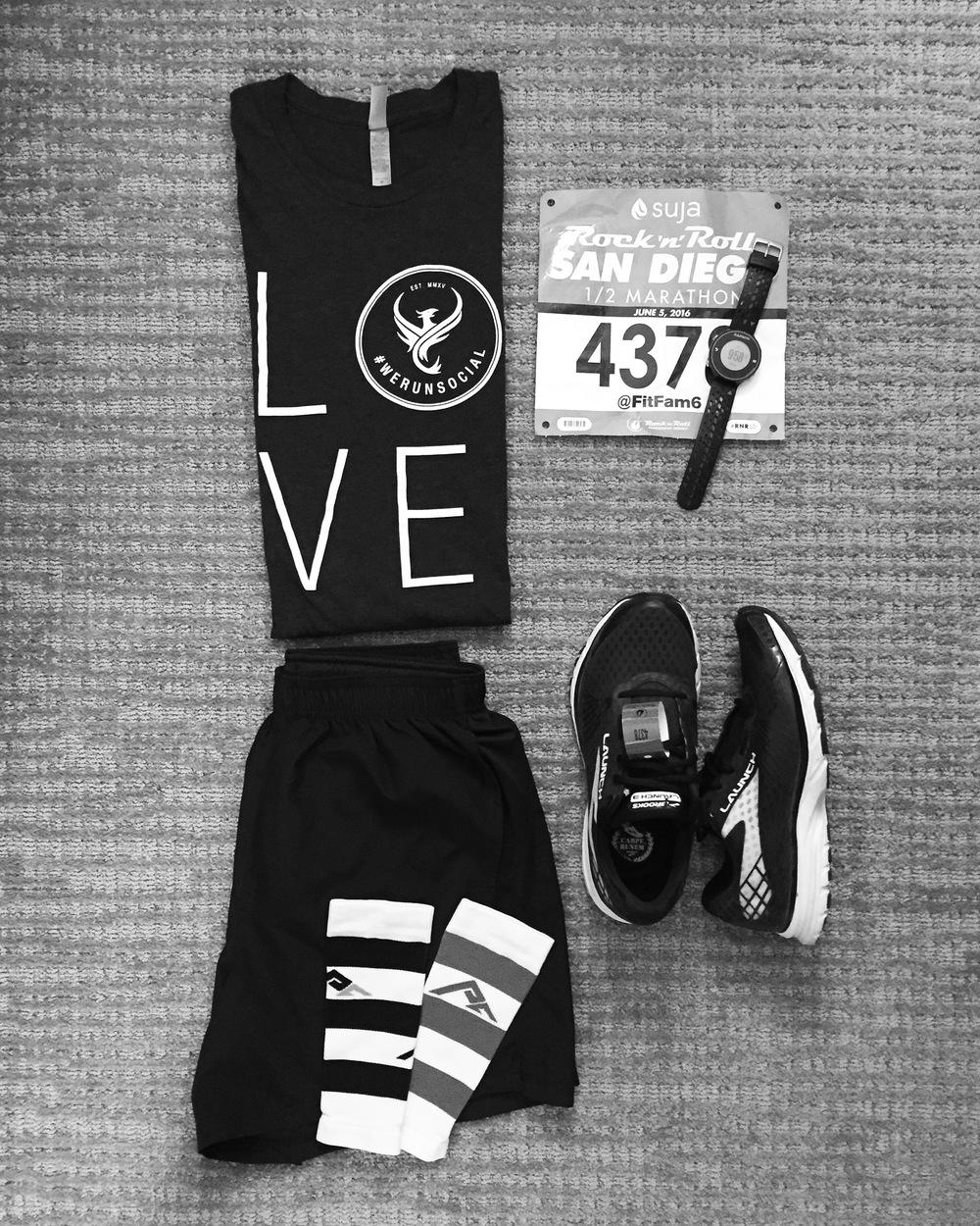 #Flatrunner ready to race.