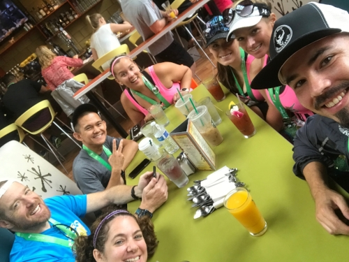 Race and eat #allthethings.  @matmilesmedals ,  @smartwatermelon ,  @samantha_0528 ,  @runs.n.circles   @run2getfitnik   @pavementrunner
