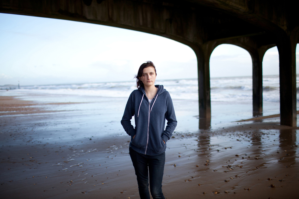 Portrait // Keeley, Boscombe, 2014.