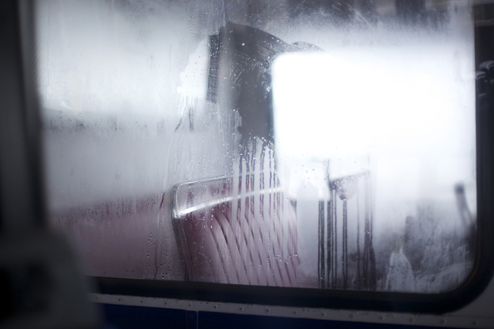 Bus Window // Swindon, 2012.