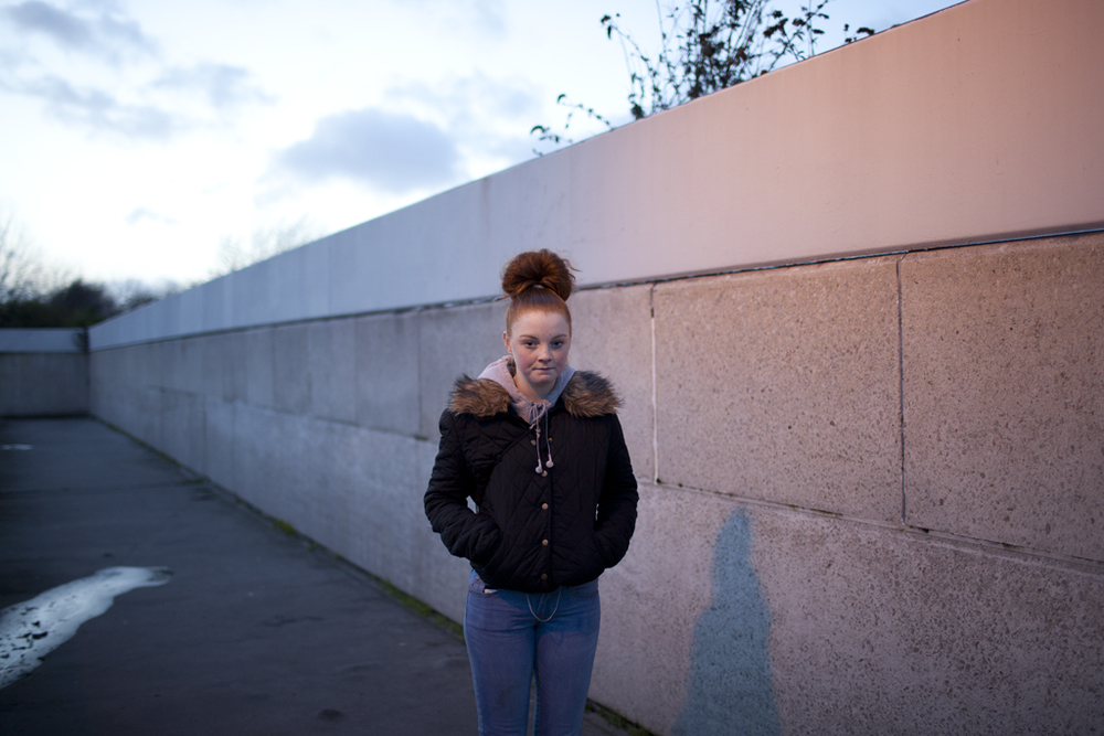 Portrait // Chloe, Wandsworth, London, 2014.