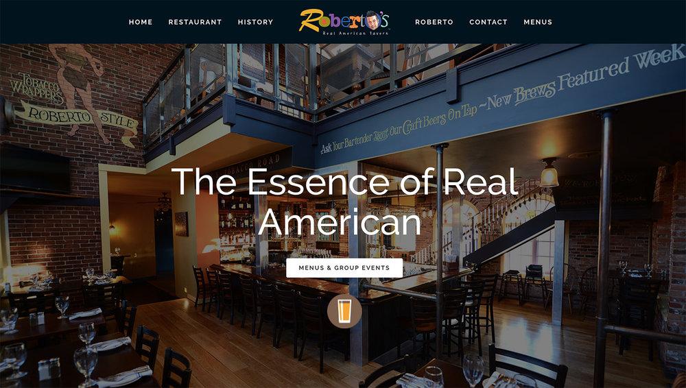 Robertos's Real American Tavern   31 S. Main Street, East Windsor CT   www.robertosct.com
