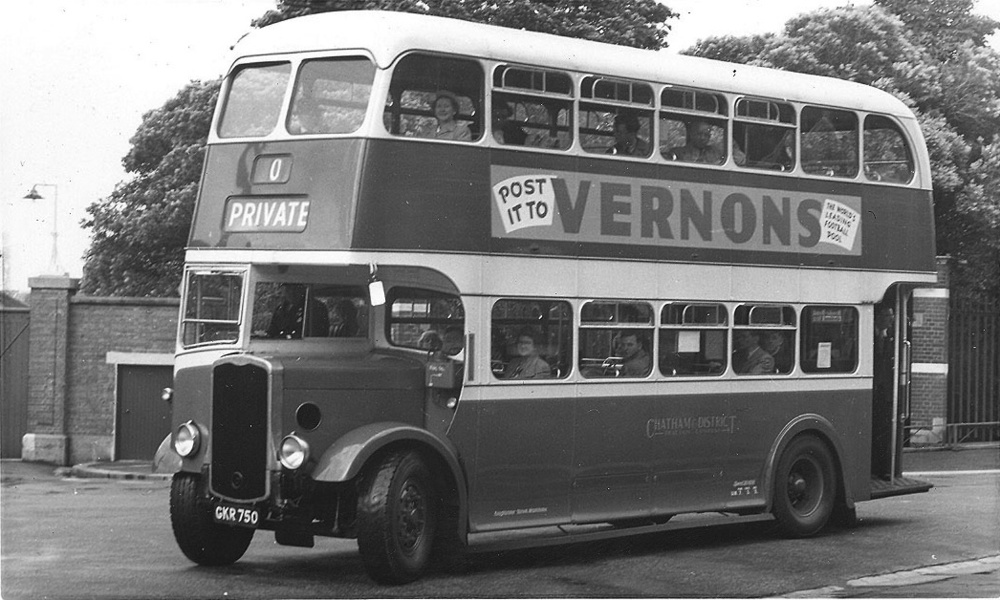 A 1942 Bristol as re-bodied in 1951.
