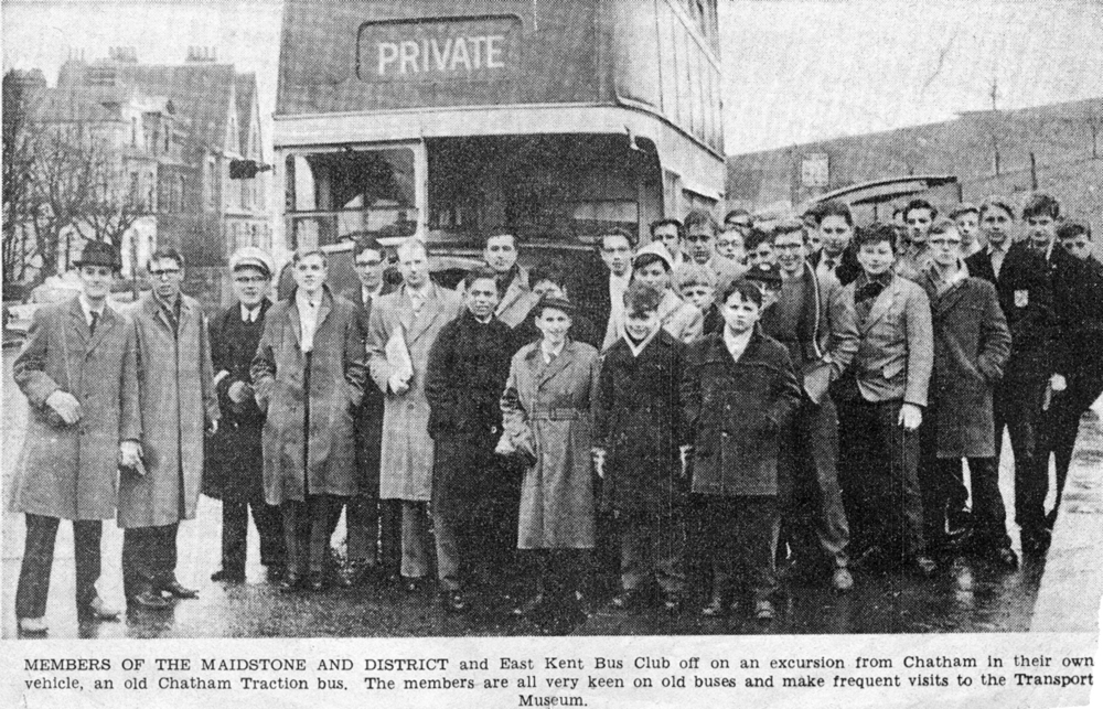 Clapham Transport Museum trip 1963. Does anyone recognise themselves?!