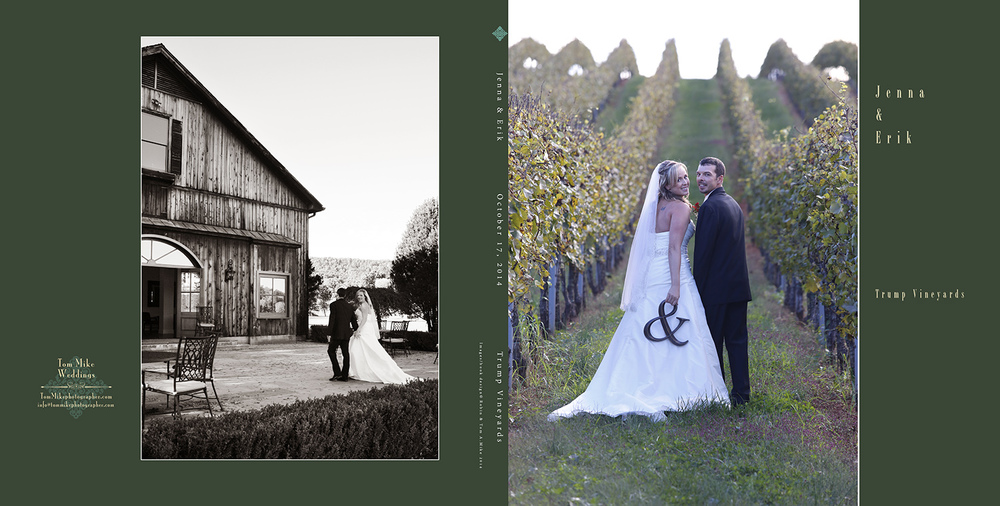 Jenna & Erik - Trump Vineyards, VA.