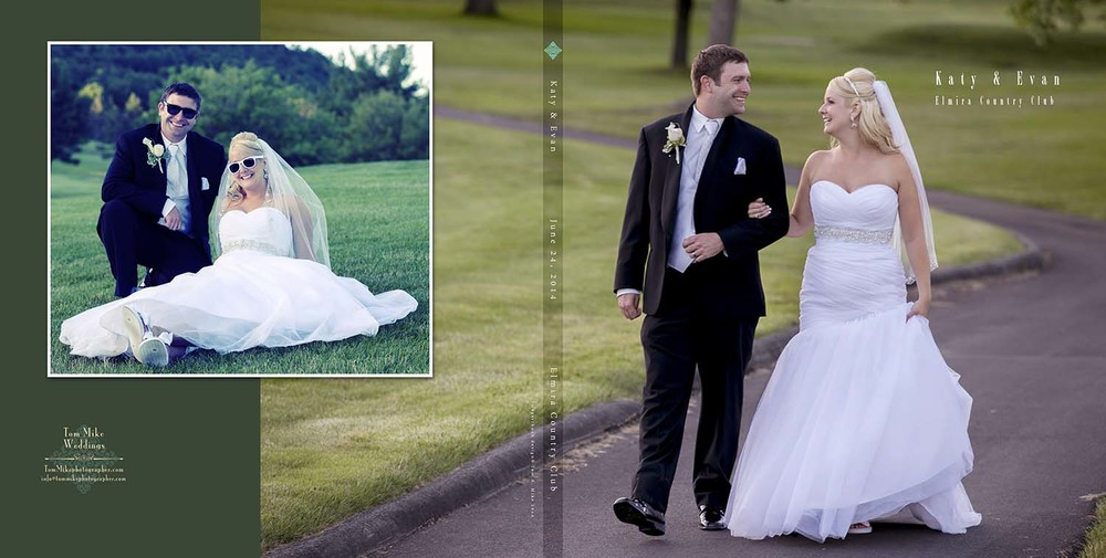 Katy & Evan - Elmira Country Club