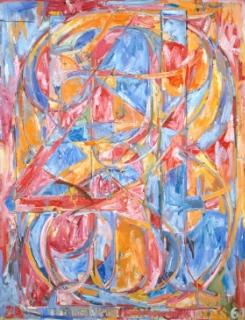 0 Through 9, Jasper Johns