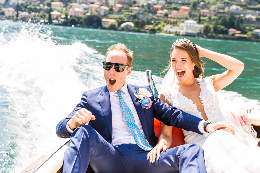 Sophie & Oliver - Lake Como by Riva! -