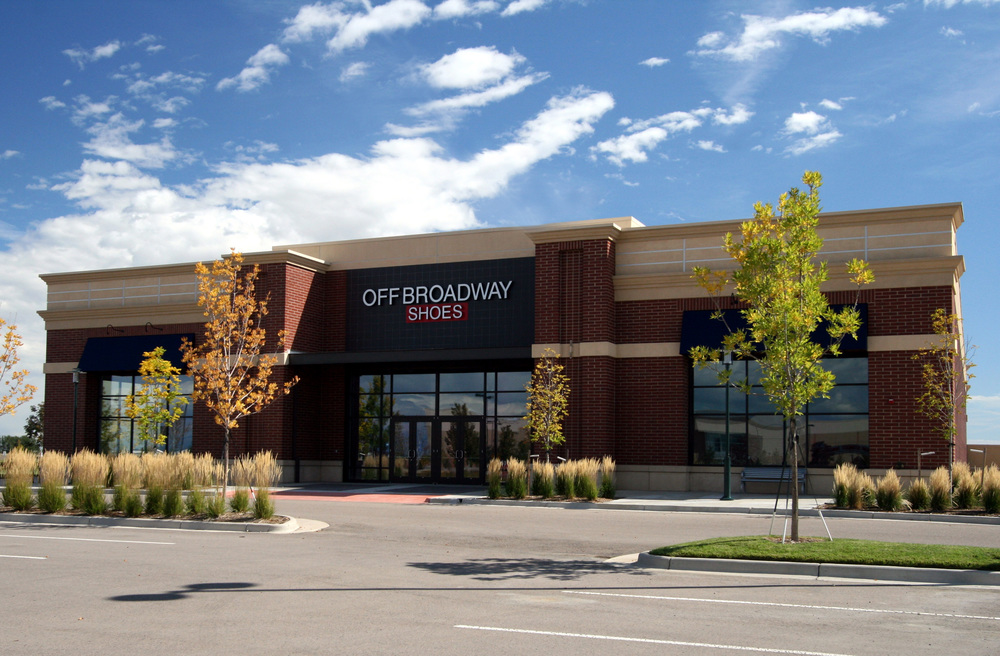 OFF BROADWAY SHOES  -   25,000 SF mid-anchor retail project including associated site work.