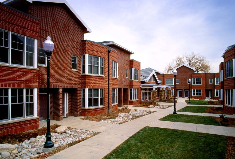 REGIS STUDENT HOUSING  -  4 New Buildings totaling 48,577 SF