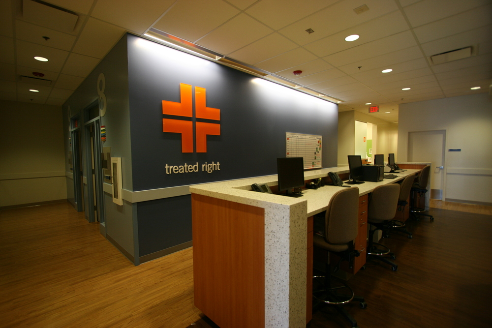 CONCENTRA DENVER TECH CENTER TI- Tenant improvements including administrative areas, patient rooms and rehabilitation area for a total of 8,086 SF.