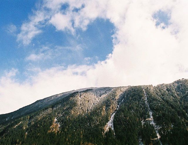 'The changing elements' 35mm photograph taken with my Pentax ME Super in Tirol, Austria.