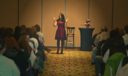 psychic medium offers live groups events and public readings
