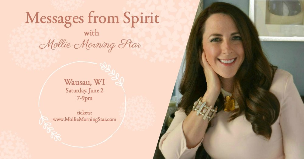 Wausau Psychic Medium - Stevens Point Spiritual Medium - Mollie Morning Star