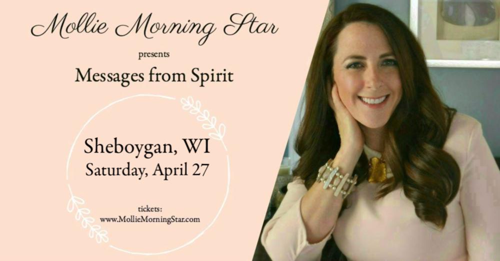 Wisconsin Psychic Medium Mollie Morning Star - Group Reading April 27 - Sheboygan