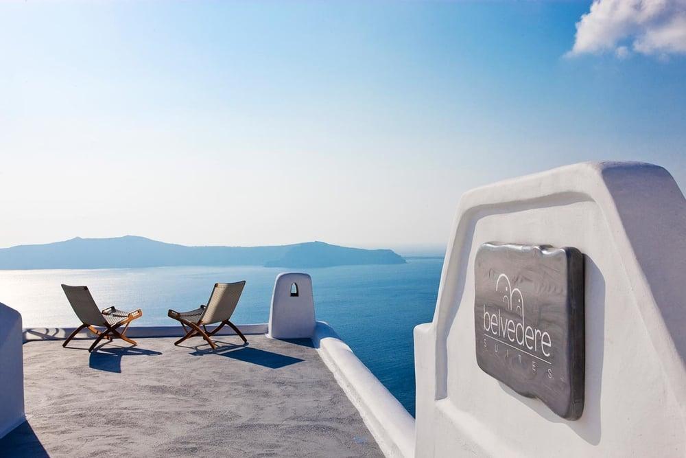 Belvedere Hotel - Santorini   All Santorini Hotels