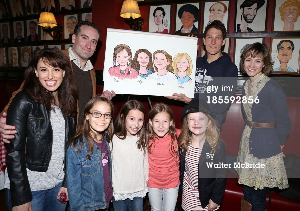 The Matildas' Caricature Reveal at Sardi's