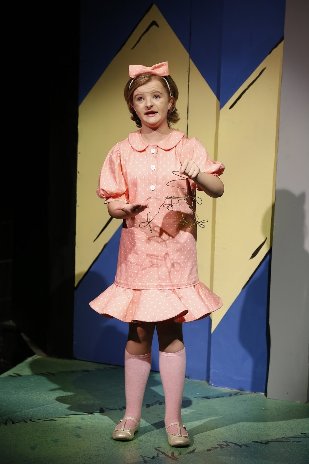 Milly as Sally in You're A Good Man, Charlie Brown