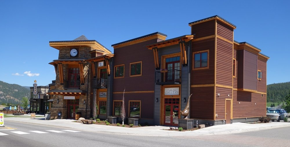 www.creightonblockgallery.com  88 Ousel Falls Road Big Sky, MT 59716 406-993-9400 represents: Wallflower Series & pulpWESTERN Series