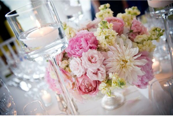 Wedding Centerpiece Pink Arrngment