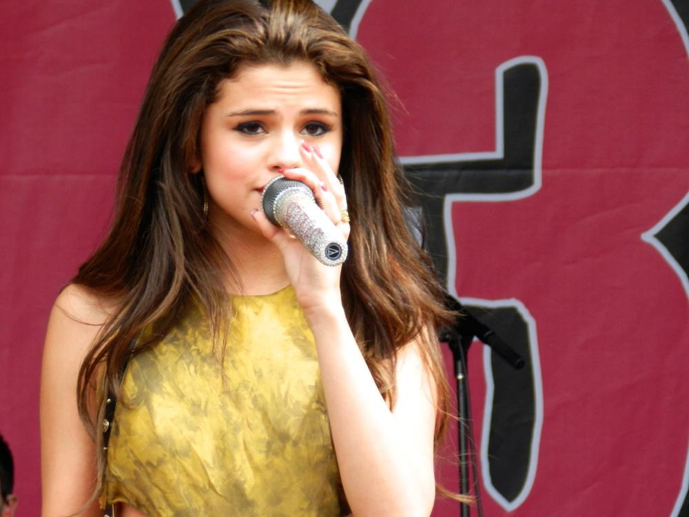 Selena Gomez at 103.3 Amp Radio's Birthday Bash 2013