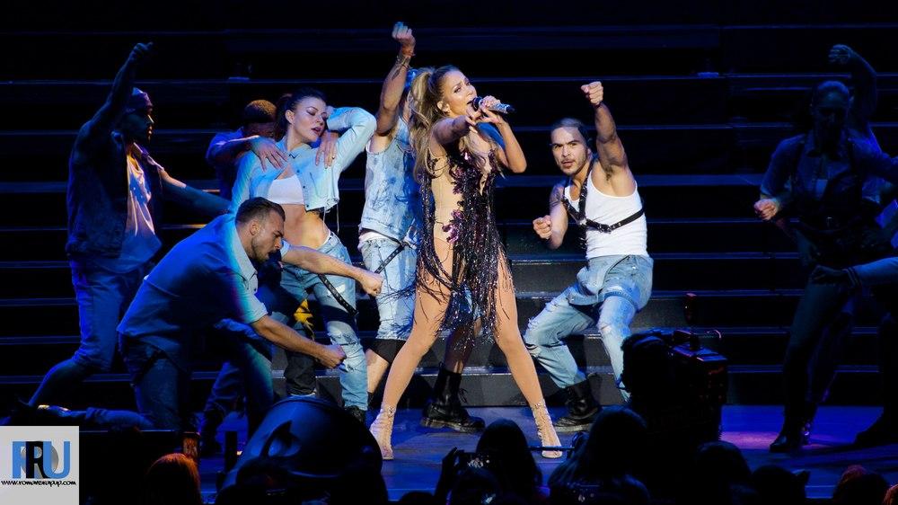 J.Lo performing at Jam'n 94.5's Summer Jam on May 30th, 2014. Credit: Benjamin Esakof/Roman's Rap-Up