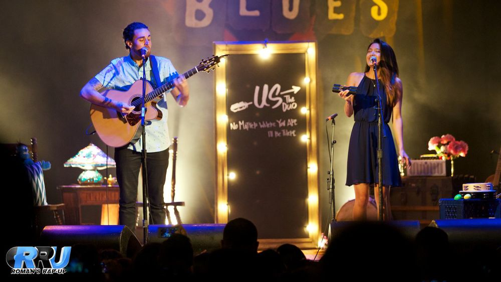 Us The Duo perform at the House Of Blues in Anaheim, CA on August 13th, 2014 (Paul DeBaun/Roman's Rap-Up).