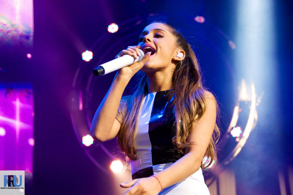 Ariana grande announces 2015 tour dates romans rap up ariana grande performing at kiss concert 2014 on may 31st 2014 in mansfield ma m4hsunfo