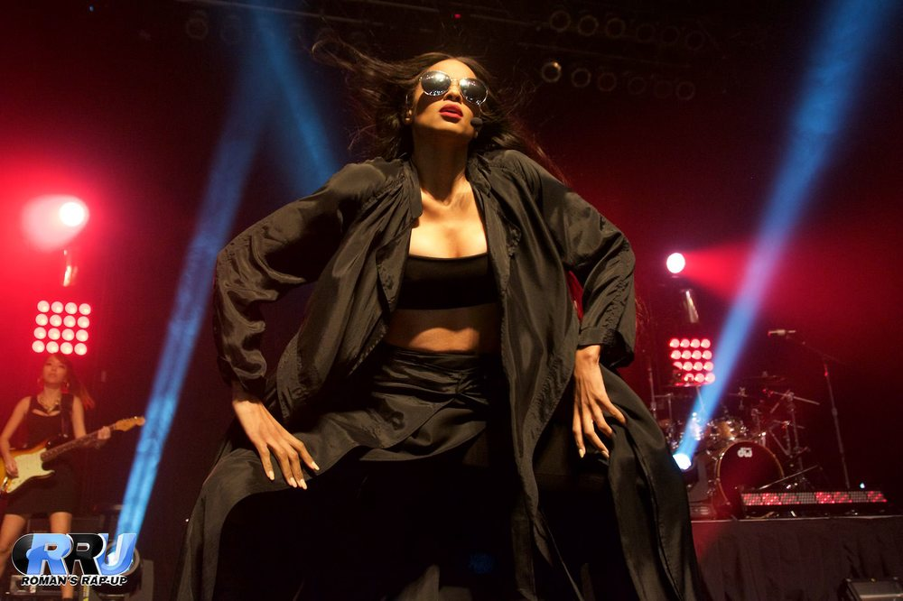 Ciara performs in Boston, MA on May 7th, 2015 (Benjamin Esakof/Roman's Rap-Up).