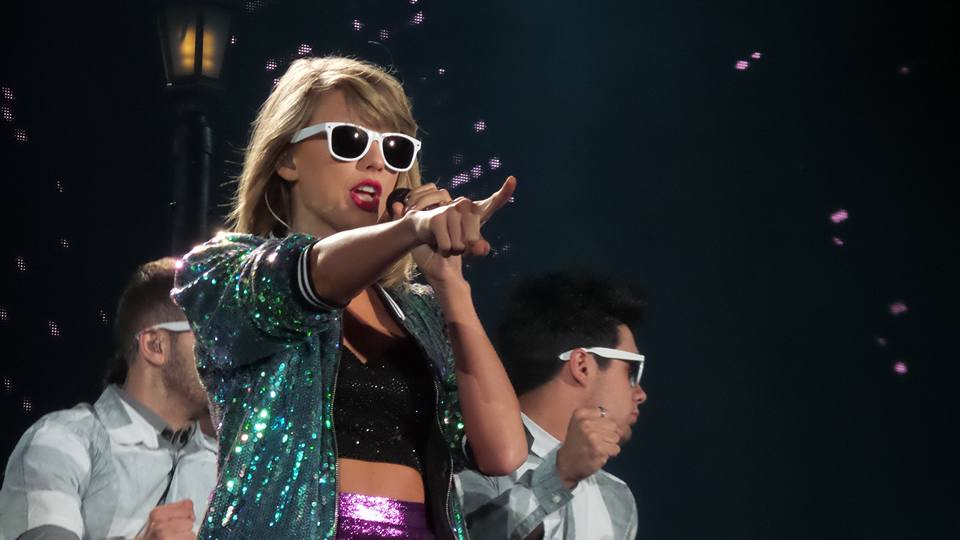 Taylor Swift performs in Foxboro on Saturday, July 25th (Angela Smith/Patriot Ledger).